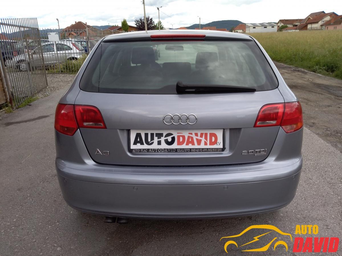 Audi A3 2,0TDI QVATRO